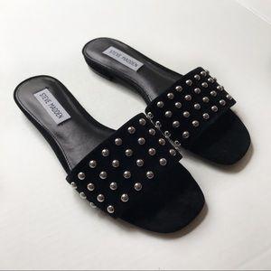 Steve Madden Viv Studded Leather Sandals